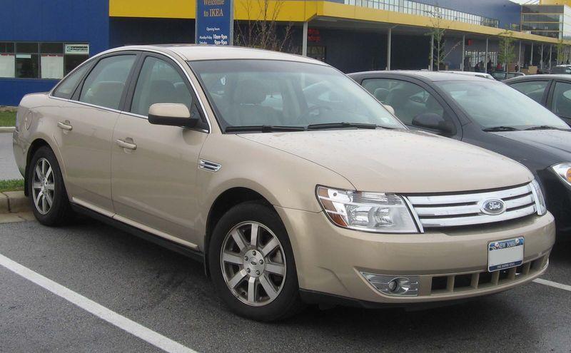 2008 Ford Taurus Auto Body Repair